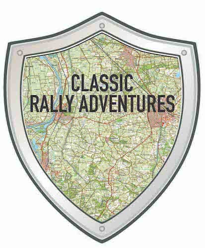 schildje classic rally adventures zwart copy
